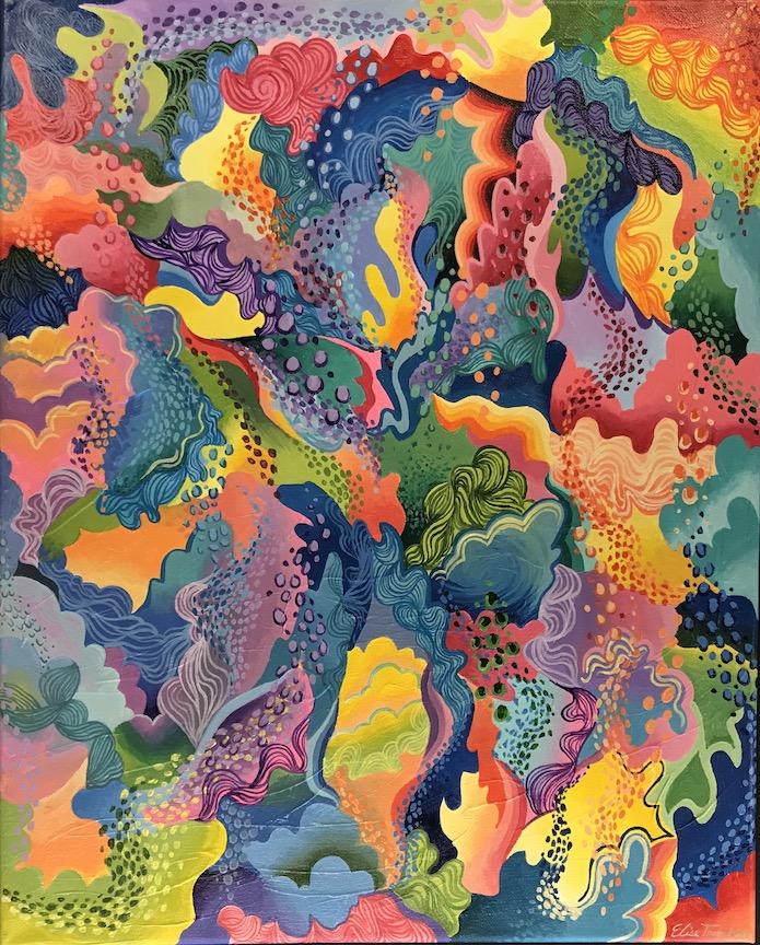 Elise Tromblay, Ogden, Art Teacher: Kara Kruse, 12th grade.