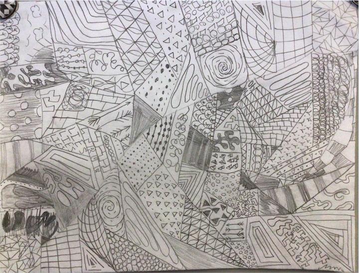 Leticia Dahl, Postville, Emma Treloar's 6th grade artists.