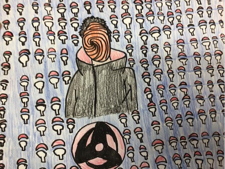 Emmanuel Hernandez, Postville, Emma Treloar's 6th grade artists.