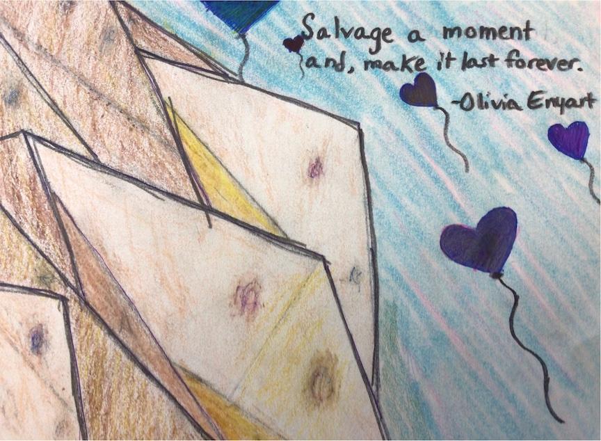 Olivia Enyart, Postville, Emma Treloar's 6th grade artists.