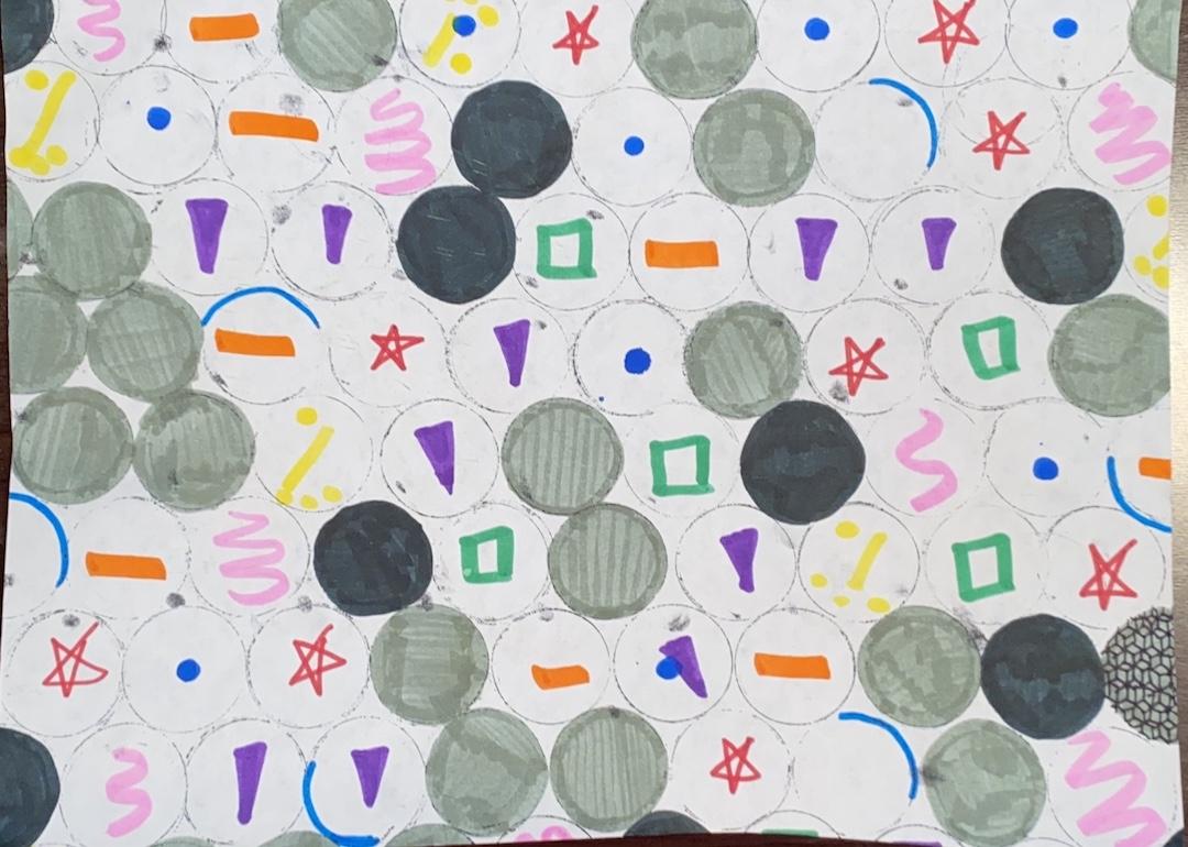 Holly Rosemarie Larson, Cedar Rapids, 7th grade, Art Teacher: Emily Magnuson.