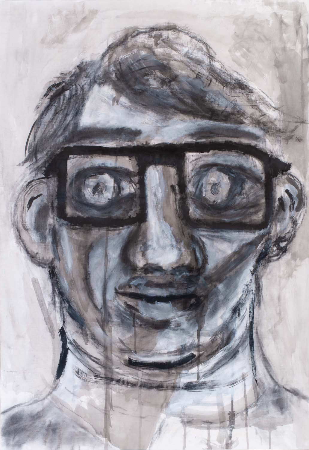 face wearing glasses