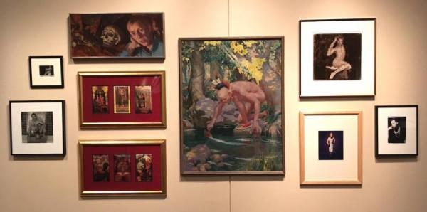 Display of artworks in That's So Gay: An Exploration of Homophobia in Art