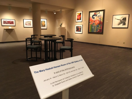 In installation view in the Mary Haskell-Hansen Room