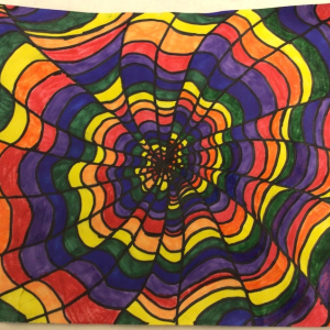 Toryn Timp, Postville, Emma Treloar's 6th grade artists.